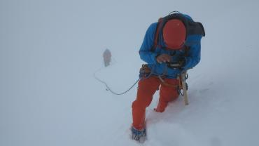 IFMGA Without, Professional Mountain Guide Course, Piz Scherschen, Photo Kurt Walde.JPG